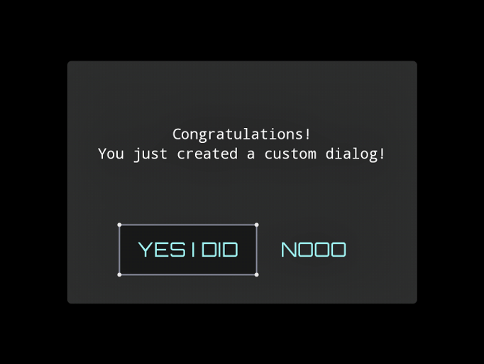 custom dialog libgdx android