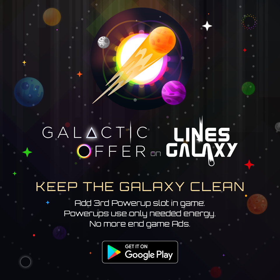 Lines Galaxy - Can you save the Universe?